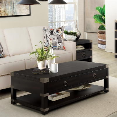 Riverside Caster Coffee Table