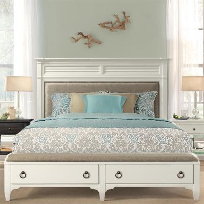 Riverside Upholstered Storage Bed