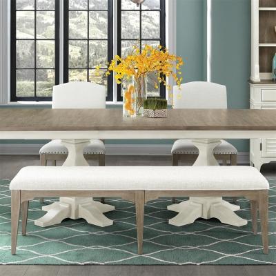 Riverside Upholstered Dining Bench