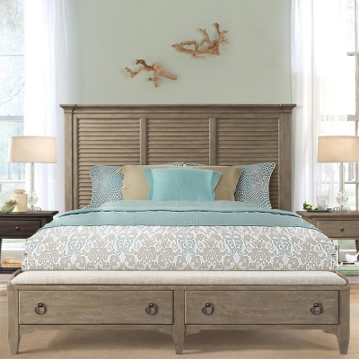 Riverside Louver Storage Bed