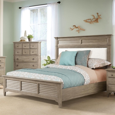 Riverside Upholstered Bed