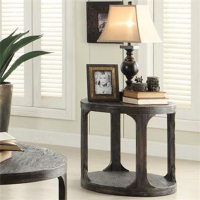 Riverside Round End Table