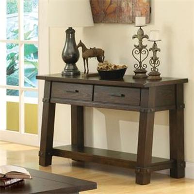 Riverside Angled Leg Console Table