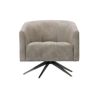 Rowe Leather Swivel Chair