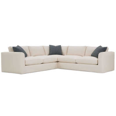 Rowe P602 Slip Sect Derby Slipcover Sectional Discount