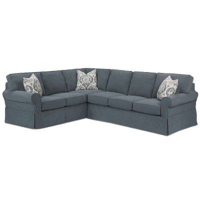 Rowe Slipcover Sectional Sofa