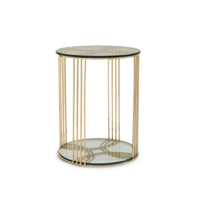 Compositions Schnadig Round Side Table