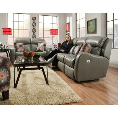 Southern Motion Siri Leather Sofa