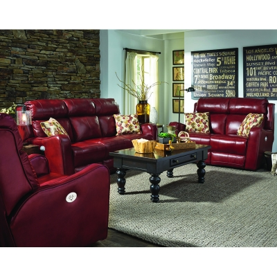 Southern Motion First Class Leather Sofa