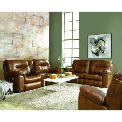 Southern Motion Big Shot Leather Sofa