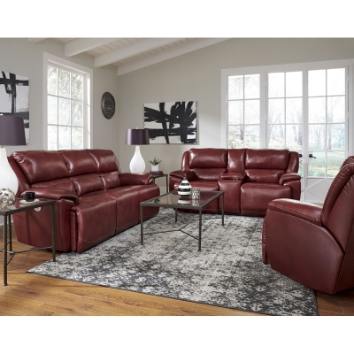 Southern Motion Majestic Leather Sofa