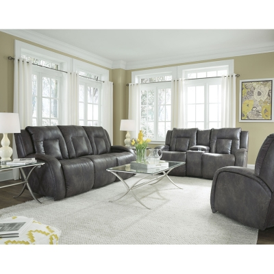 Southern Motion Kingston Leather Sofa