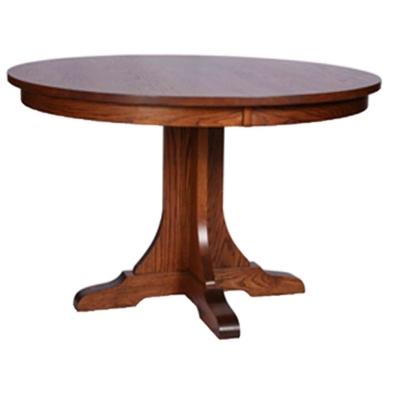 Still Fork Mission Single Pedestal Table