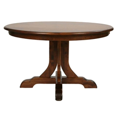 Still Fork Laurel Single Pedestal Table