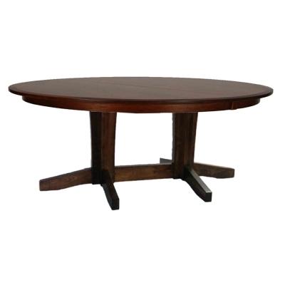 Still Fork Urban Double Pedestal Table