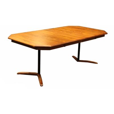 Still Fork Double Pedestal Table