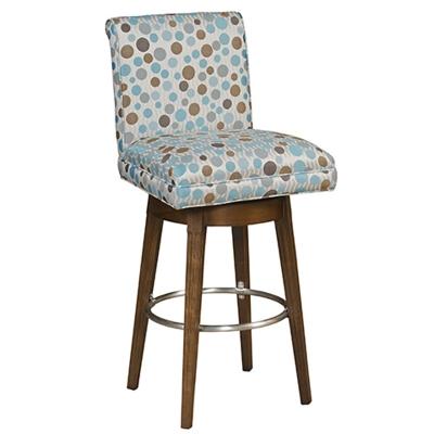 Style Upholstering Swivel Barstool