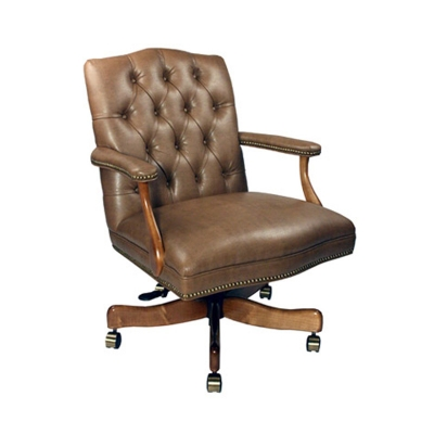 Style Upholstering Tufted Swivel Chair