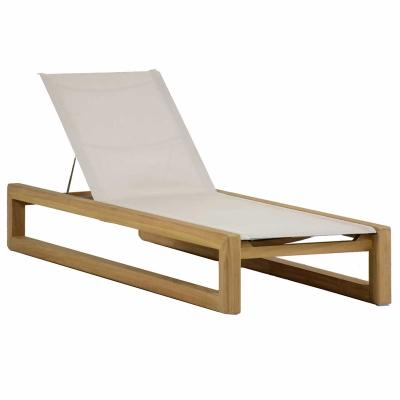 Summer Classics Teak Chaise Lounge