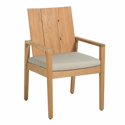 Summer Classics Teak Arm Chair