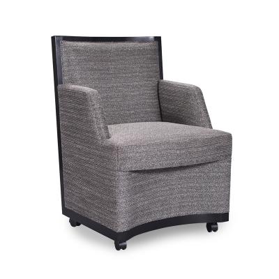 Swaim Leather Game Chair