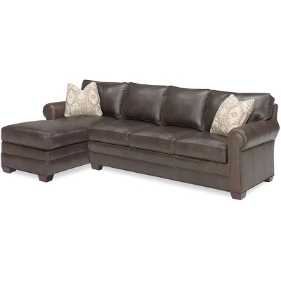 Temple Leather Sectional