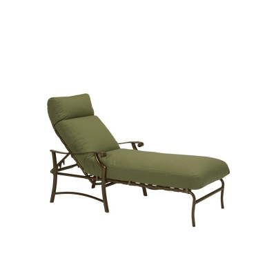 Tropitone 721332 montreux ii cushion chaise lounge discount furniture at hickory park furniture - Discount outdoor chaise lounge cushions ...