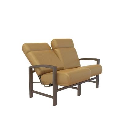 Tropitone 730514sa lakeside cushion love seat discount for Furniture gallery lakeside