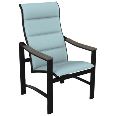 Tropitone Padded Sling High Back Dining Chair