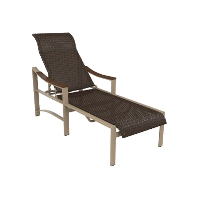 Tropitone Woven Chaise Lounge