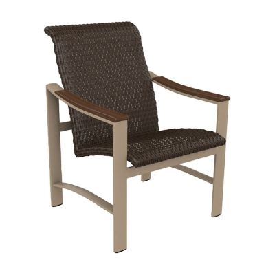 Tropitone Woven Dining Chair