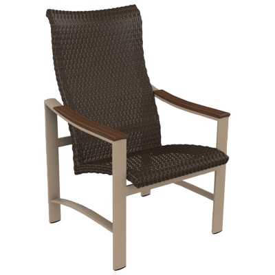 Tropitone Woven High Back Dining Chair