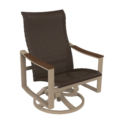 Tropitone Woven Swivel Action Lounger