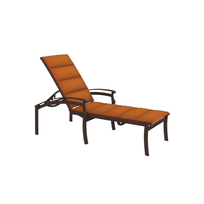 Tropitone Padded Sling Chaise Lounge
