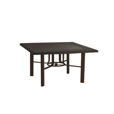 Tropitone 730562swb venice teak umbrella chat table base for Affordable furniture on 45