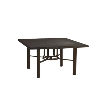 Tropitone 730562swb venice teak umbrella chat table base for Affordable furniture 45