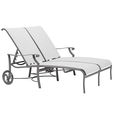 Tropitone Sling Double Chaise Lounge
