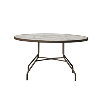 tropitone 646n acrylic and glass tables 42 inch round