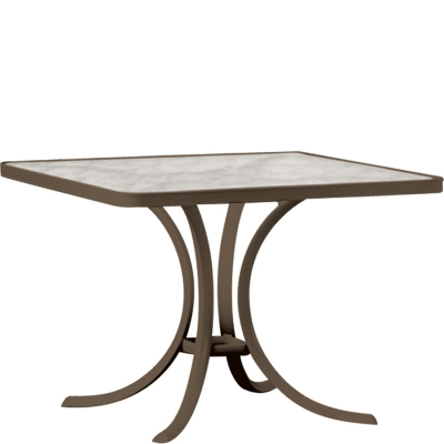 36 inch square dining table tropitone 36 inch square dining table 1876 acrylic and glass tables