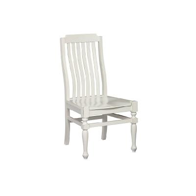 Laurel Mercantile Side Chair Wooden Seat