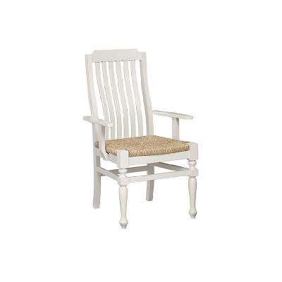 Laurel Mercantile Arm Chair Seagrass Seat