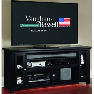 Vaughan Bassett 66 inch Sound Bar Media Center