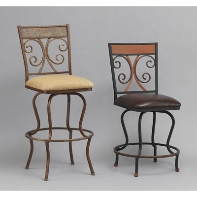 wesley allen b217h30 barstool greenwood barstool discount furniture at hickory park furniture. Black Bedroom Furniture Sets. Home Design Ideas