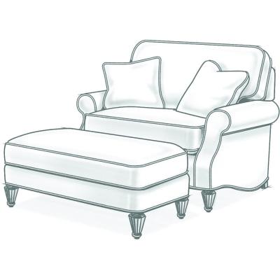 Wesley Hall Chair And Half