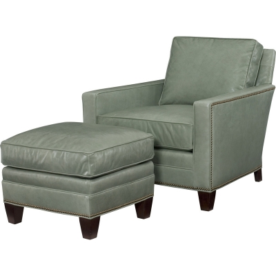 Wesley Hall Maxwell Leather Chair