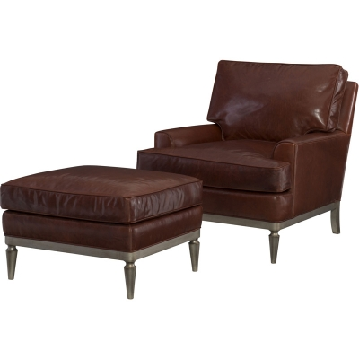 Wesley Hall Harville Leather Chair