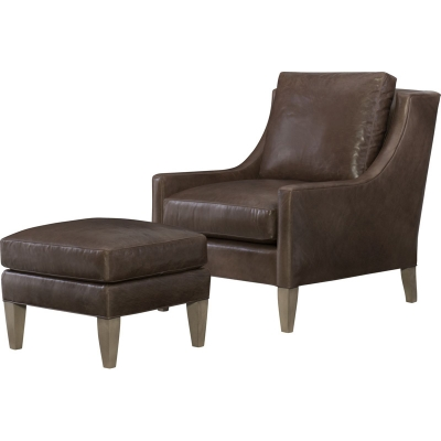 Wesley Hall Ryland Leather Chair