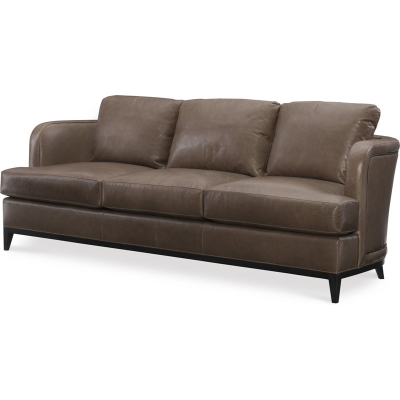 Wesley Hall Leather Sofa