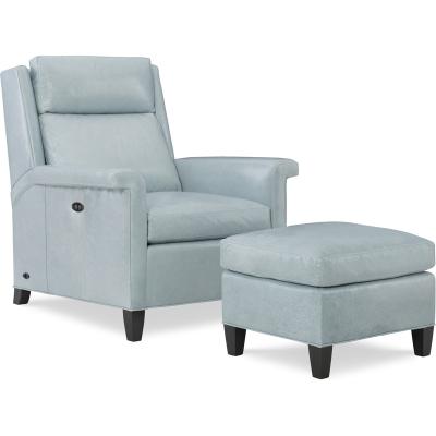 Wesley Hall Tilt Back Leather Chair