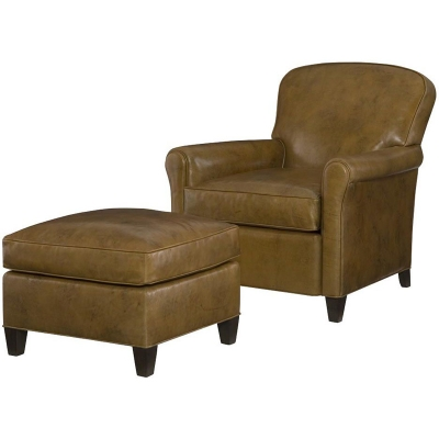 Wesley Hall Augustus Leather Chair